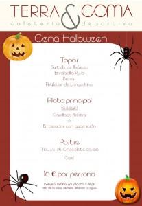Menú Hallowen Terra&Coma