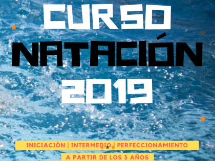 CURSILLOS DE NATACIÓN 2019