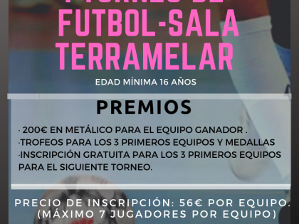 I TORNEO FÚTBOL SALA CLUB ACR TERRAMELAR